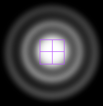 Airy Disk versus Pixels
