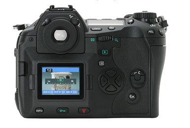 Olympus E-1 LCD
