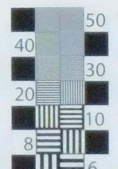 ISO 400 Test: F/4.1, 14.3mm f.l.