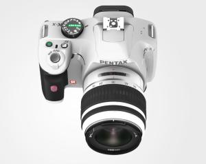 Pentax K-x, White