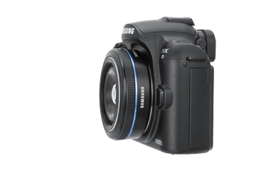 Samsung NX10 and Pancake