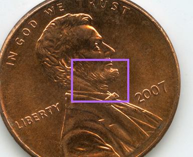US Penny Versus Tiny Sensor