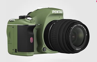 Pentax K-x Olive