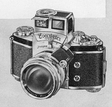 The 35mm SLR, circa 1958