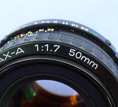 An f/1.7 Prime Lens