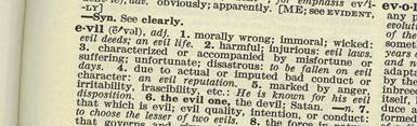 Dictionary-Evil