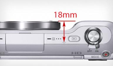 Sony 'E' Flangeback Distance