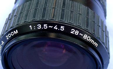 Zoom Lens Specs